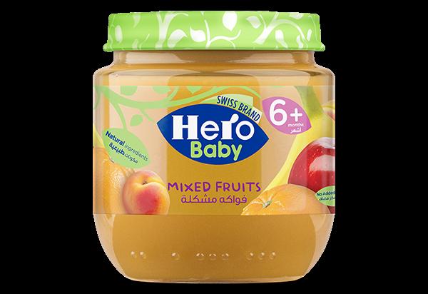 Hero baby , jars , baby food