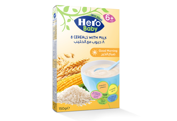 Cereals, milk